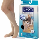 JOBST Opaque Knee High Stockings, 20-30mmHg, Open Toe