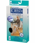 JOBST Opaque Thigh High Stockings with Silicone Band, 20-30mmHg, Open Toe