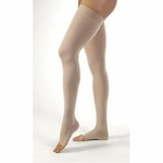 JOBST Relief Thigh High Compression Stockings, Silicone Band 15-20mmHg