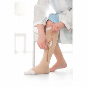 JOBST UlcerCARE Compression Stockings for Leg Ulcers with Zipper (40mmHg)