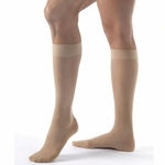 Jobst UltraSheer Knee High Closed Toe Compression Hose 15-20mmHg