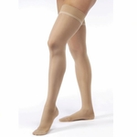 Jobst UltraSheer Thigh High with Silicone DOT Band 15-20mmHg