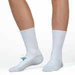 Juzo Silver Sole Compression Socks, Crew 5760AC