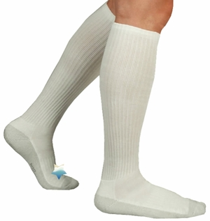 Juzo Silver Sole Compression Socks, Knee High 5760AD