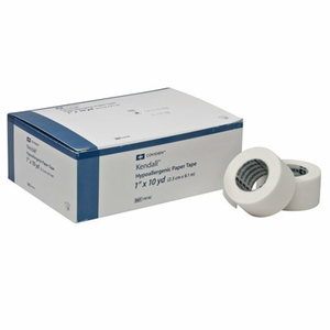 Kendall Hypoallergenic Medical Paper Tape (Formerly Tenderskin), All Sizes