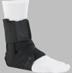 Lace Up Ankle Brace Support with Tibia Strap by Breg