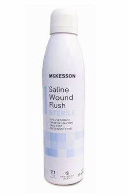 McKesson Saline Wound Flush 7.1oz, # 37-6507