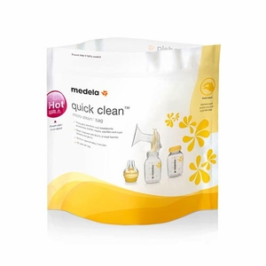 Medela Quick Clean Micro-Steam Bags (Bag of 5) # 87024NA
