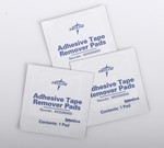 Medline Adhesive Tape Remover Pads, Box/100 or Case/1000, #MDS090855