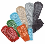 Medline Double Tread Slippers with Slip-Resistant Soles  (1 Pair)