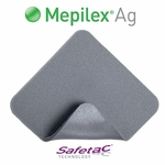 Mepilex Ag Foam Dressings, Soft Silicone, Molnlycke - All Sizes