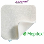 Mepilex Soft Silicone Absorbent Foam Wound Dressings, Molnlycke