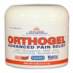 Orthogel Advanced Pain Relief Gel, 4oz Jar