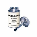 Osto-Bond Skin Bond Latex Adhesive (4oz bottle w/brush top)