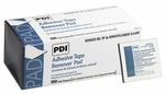PDI Adhesive Tape Remover Pad Wipes, Box of 100, # B16400