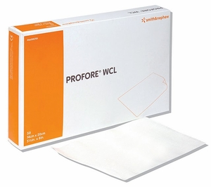 "Profore WCL Wound Contact Layer Dressing, 5.5"" x 8"", Box of 50"