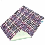 "Quik-Sorb Incontinence Underpad, Chair Size, Plaid 18""x24"""