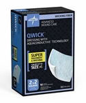 Qwick Non-Adhesive Wound Dressing with Aquaconductive Technology