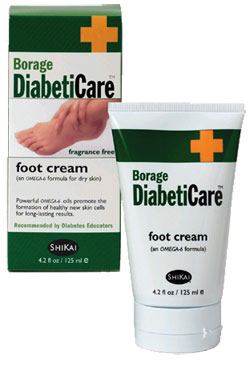 Borage Diabeticare Lotion Solution For Cracked Feet