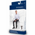 Sigvaris 822 Midtown Microfiber Men's Calf Compression Socks 20-30mmHg