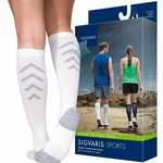 Sigvaris Athletic Recovery Compression Socks, 15-20mmHg, Unisex
