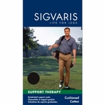 Sigvaris Cushioned Cotton Compression Socks for Men, #182