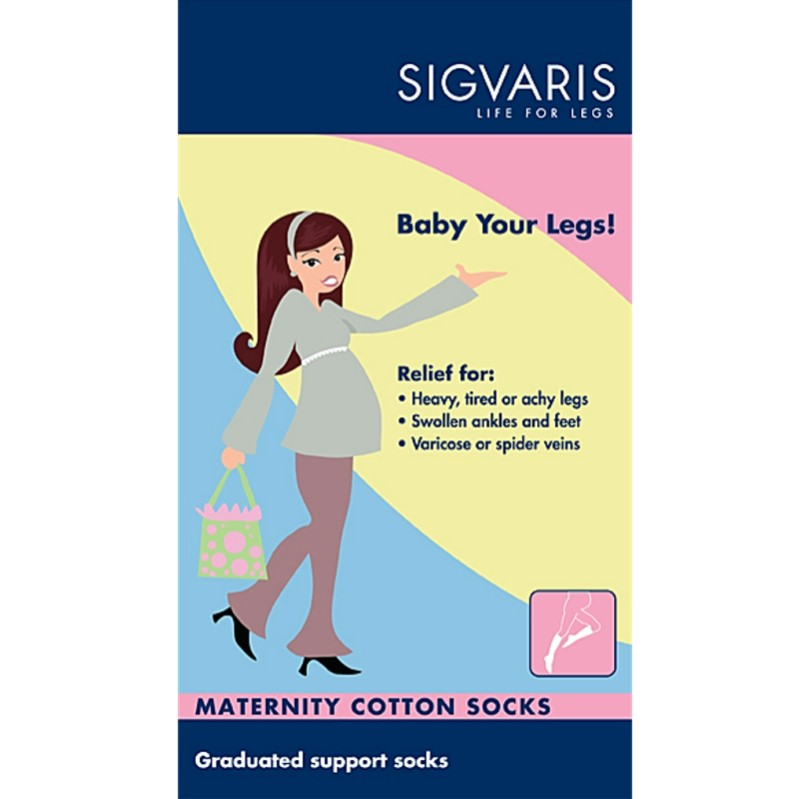 0c8579d9a7 Sigvaris Maternity Compression Socks for Pregnancy