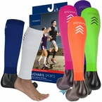 Sigvaris Performance Running Compression Leg Sleeves, 20-30mmHg