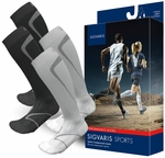 Sigvaris Motion High Tech Performance Running Compression Socks, 20-30mmHg
