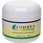 Sombra Cool Therapy Pain Relieving Gel, 2 oz jar
