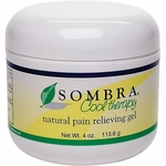 Sombra Cool Therapy Pain Relieving Gel, 4 oz jar