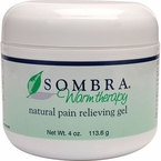 Sombra Warm Therapy Pain Relieving Gel, 4 oz jar