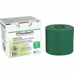 Theraband Latex Free Resistance Exercise Band, Heavy - Green, 3 yds