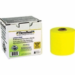 Theraband Latex Free Resistance Exercise Band, Yellow - Thin, 25 yds