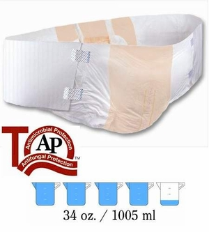 Tranquility Air-Plus Bariatric Disposable Briefs (Case of 32), # 2195