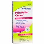 TriDerma Pain Relief Cream 2.2oz, # 73025