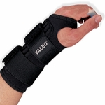 Wrist Support Brace, Double Strap Ambidextrous by Valeo