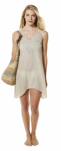 Gauze Sleeveless Dress