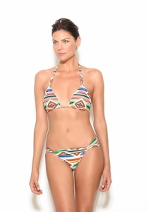Navajo Print Full Coverage Bikini Bottom