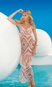 Tribal Temptation Maxi Dress