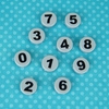 0-9 Round Number Tiles