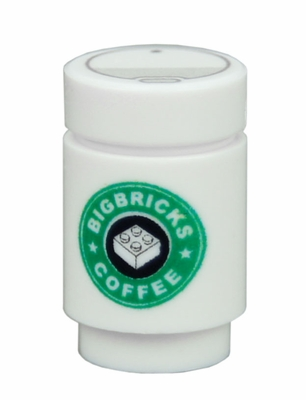 Big Bricks Coffee - white