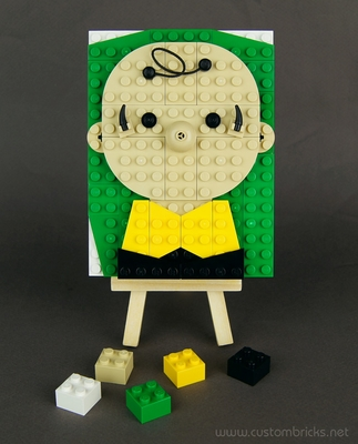 Charlie Brown Brick Sketch
