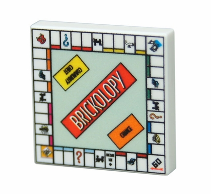 Game Board - Brickopoly