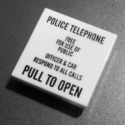 Police Box Call Sign