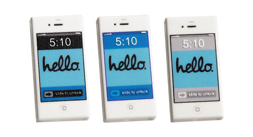 Set of 3 HELLO smartphones