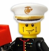 USMC Marine in Dress Blues