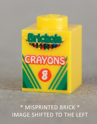 x8 Crayon Brick (MISPRINTED - LEFT)