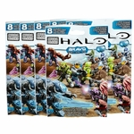 2015 Halo Mega Bloks <b>BRAVO Series SIX [6] Pack Bundle of Mystery Figure Packs</b> <font color=red>Pre-Order Ships March</font>
