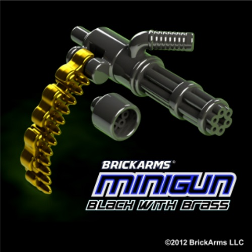 BLACK & BRASS Minigun